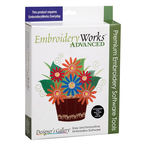 All the embroidery editing tools in one:  sizing, lettering, density adjustments and much more!