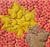 Fall Leaves Quilt Block & Table Runner