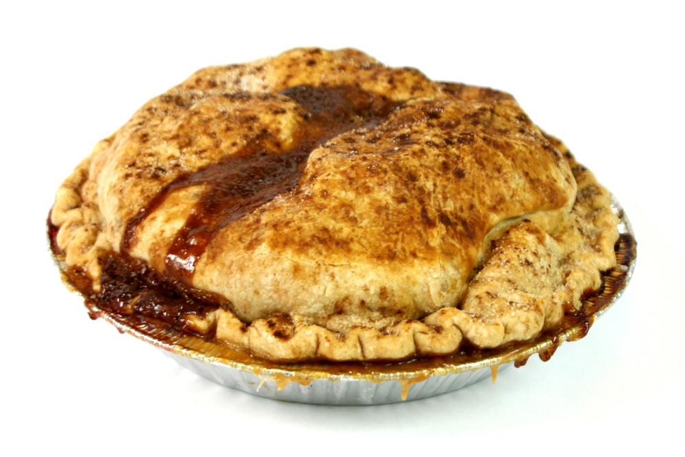 Apple-Caramel Pie