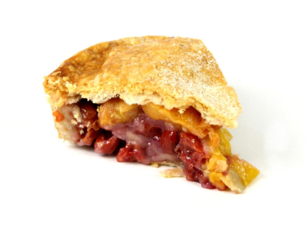 Peach-Cherry Pie