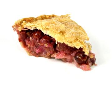 Cherry-Rhubarb Pie