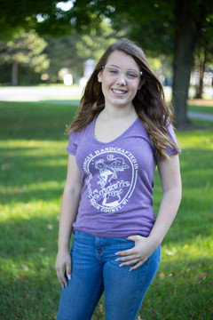 Ladies V-Neck, Fitted T-shirt