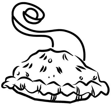 Cutie Apple-Cranberry Pie