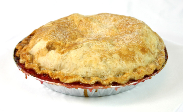 Peach-Cherry Pie