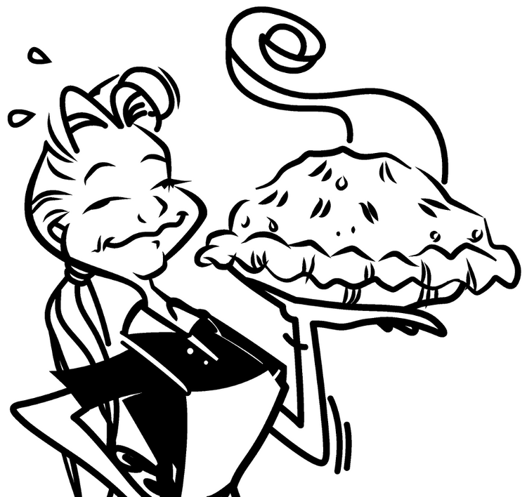 GF Strawberry Rhubarb Pie