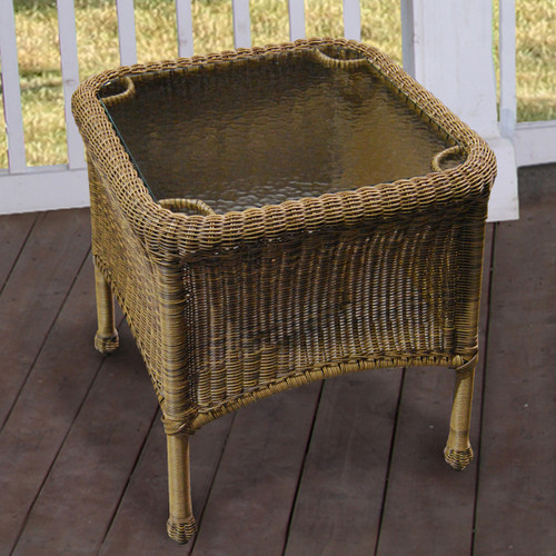 Darby End Table - Cocoa
