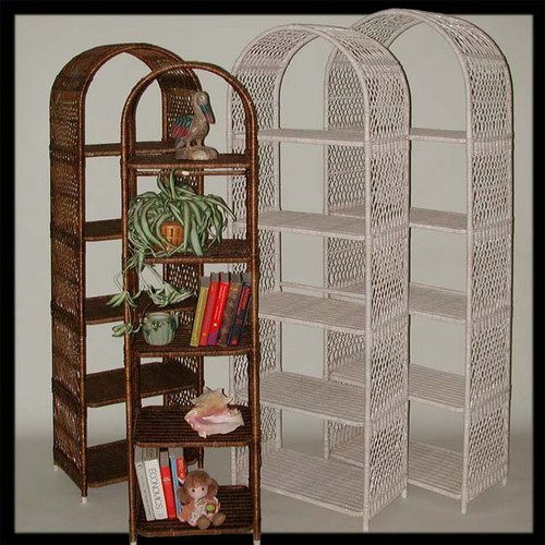 Arches With Shelves | White & Antique wash