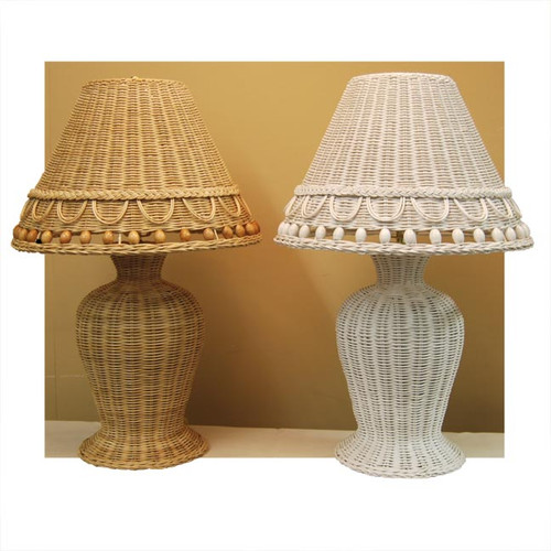 Large Beaded Lamp