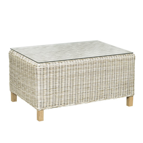 6510 Rectangle Coffee Table w/ Glass