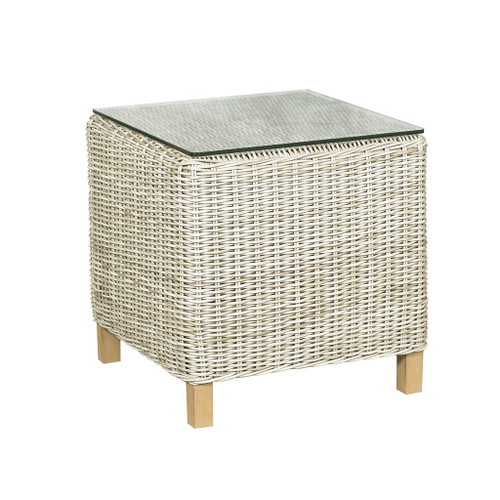 6510 Square Coffee Table w/ Glass