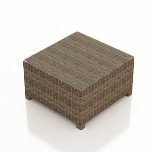 Bainbridge Square Coffee Table w/ Glass