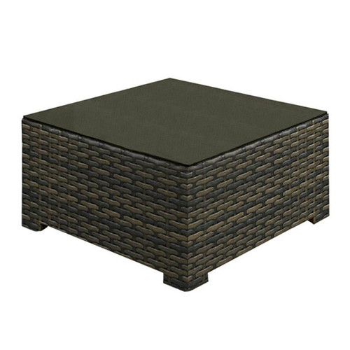 Lakeside Square Coffee Table w/ Glass