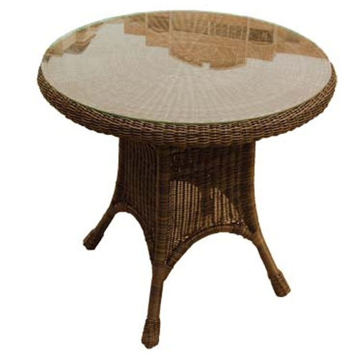 """30"""" Round Resin Dining Table"""