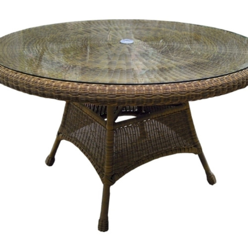 """48"""" Wicker Dining Table"""