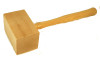 "TH12006SQ 3 1/2"" Square Solid Wood Mallet"