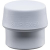 Simplex Replacement Face Insert, Mid Gray Rubber, Non-Marring