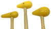 Garland Bossing Mallet Set - All three sizes of our hard yellow bossing mallets-