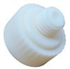 "Thor 20-1010 1 lb. Cast Aluminum dead blow hammer with 1 1/4"" white nylon replaceable faces."