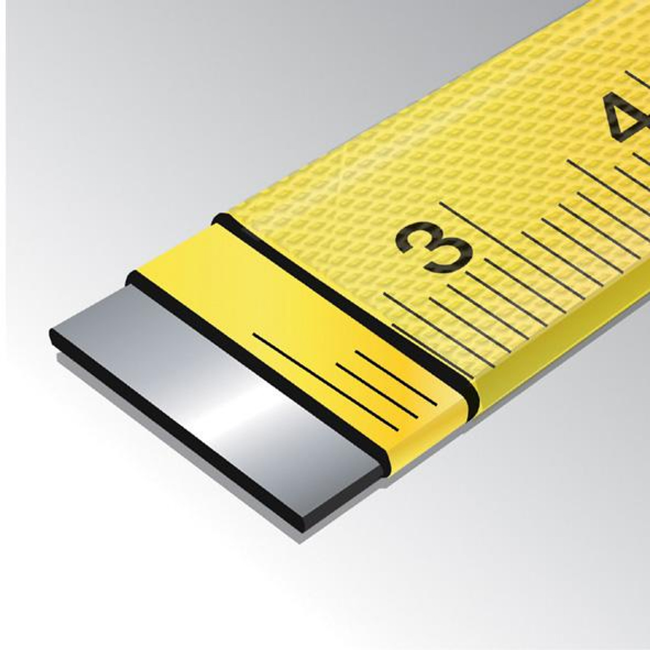 100' Steel Reel Nylon Coated Steel Blade