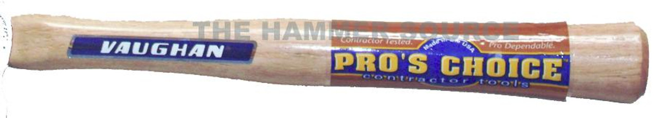 """Vaughan 62062 11"""" straight handle for 4 oz. Ball Peins and 6 oz. soft face hammers oval eye 21/32"""" x 11/32"""""""