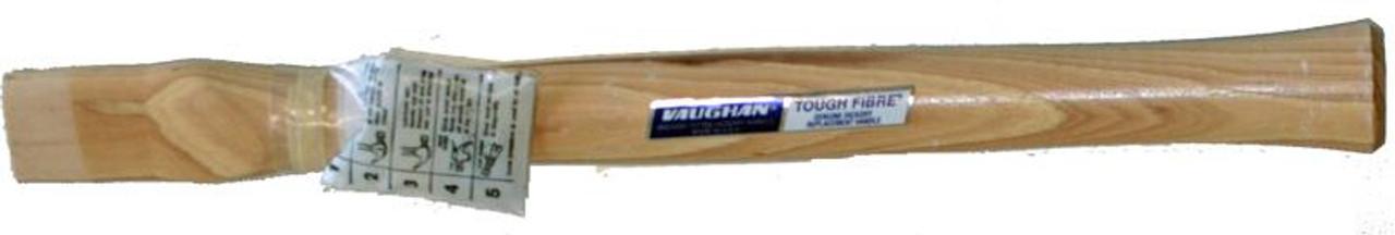"18.5"" straight handle for 27oz hammers, teardrop eye 1 5/8"" x 3/4"" , Vaughan CF3"
