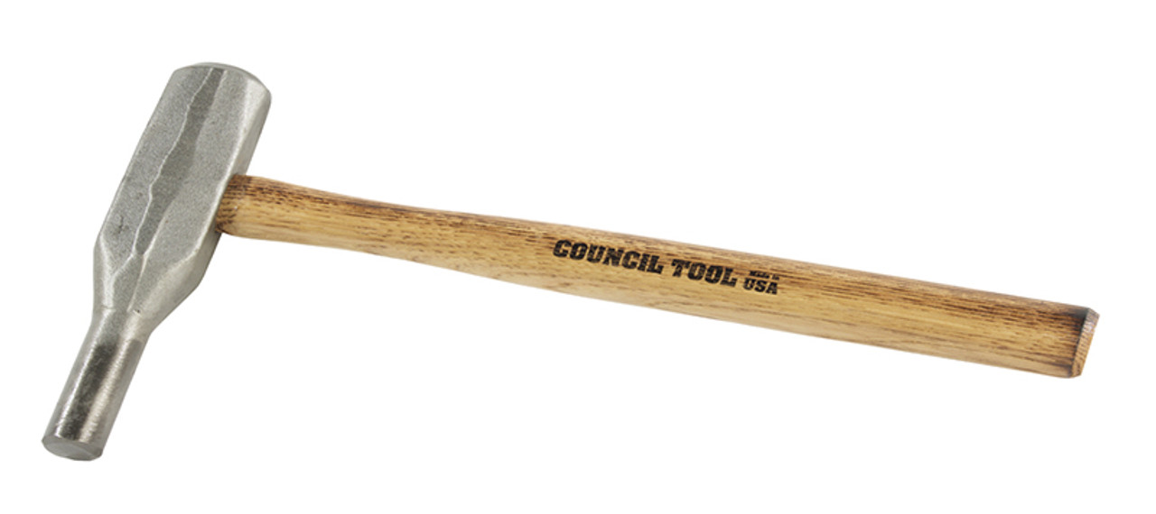 """BO100 1"""" Backing Out Punch, 15"""" wood handle."""