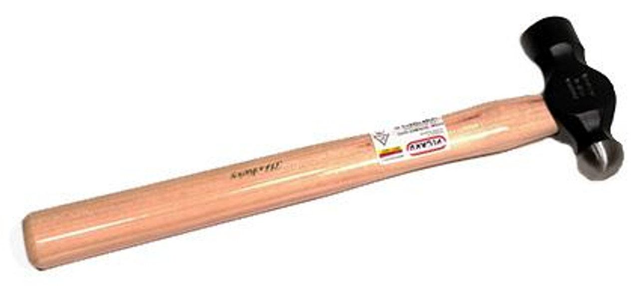 Picard P902-0100 Ball Pein Hammer, 100 gm (3.5 oz), wood handle.