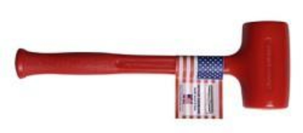 Trusty Cook DB3 45 oz. Cast Polyurethane Dead Blow Hammer.
