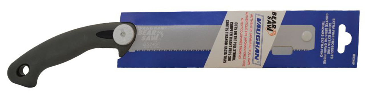 """Vaughan BS240P 16-1/2"""" (422.4mm) PVC Saw With Extra Fine Blade, 17 TPI"""