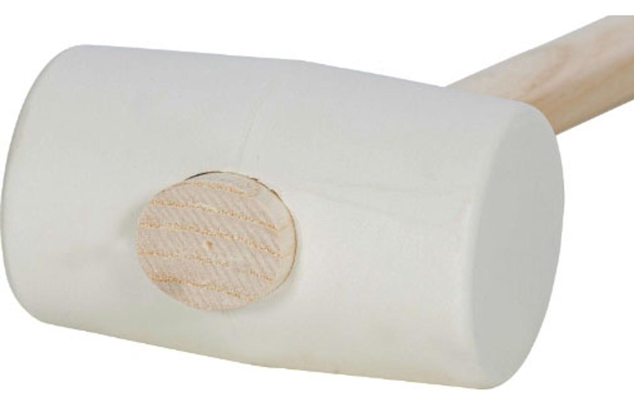 Picard 10.5 oz White Rubber Mallet 2.1 inch