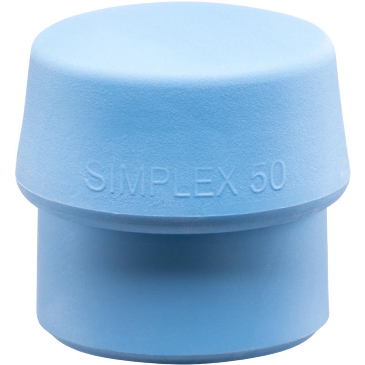 Simplex Replacement Face Insert, Soft Blue Rubber