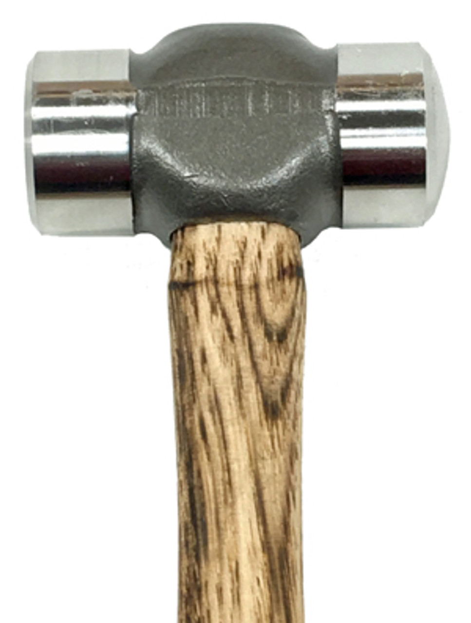 Nordic Forge 2 lb Farrier Rounding Hammer, 1 1/2 inch faces