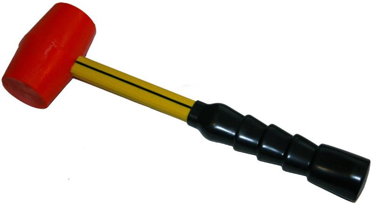 """TPC 792 Urethane Mallet, 1 1/2 lb, 2"""" diameter faces"""