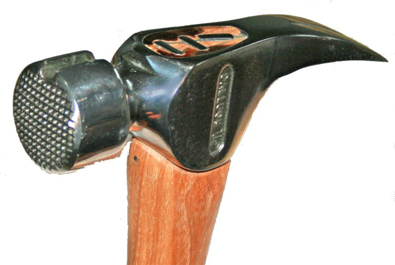 Dalluge 2110 21 oz. Framing Hammer, serrated face, magnetic nail holder