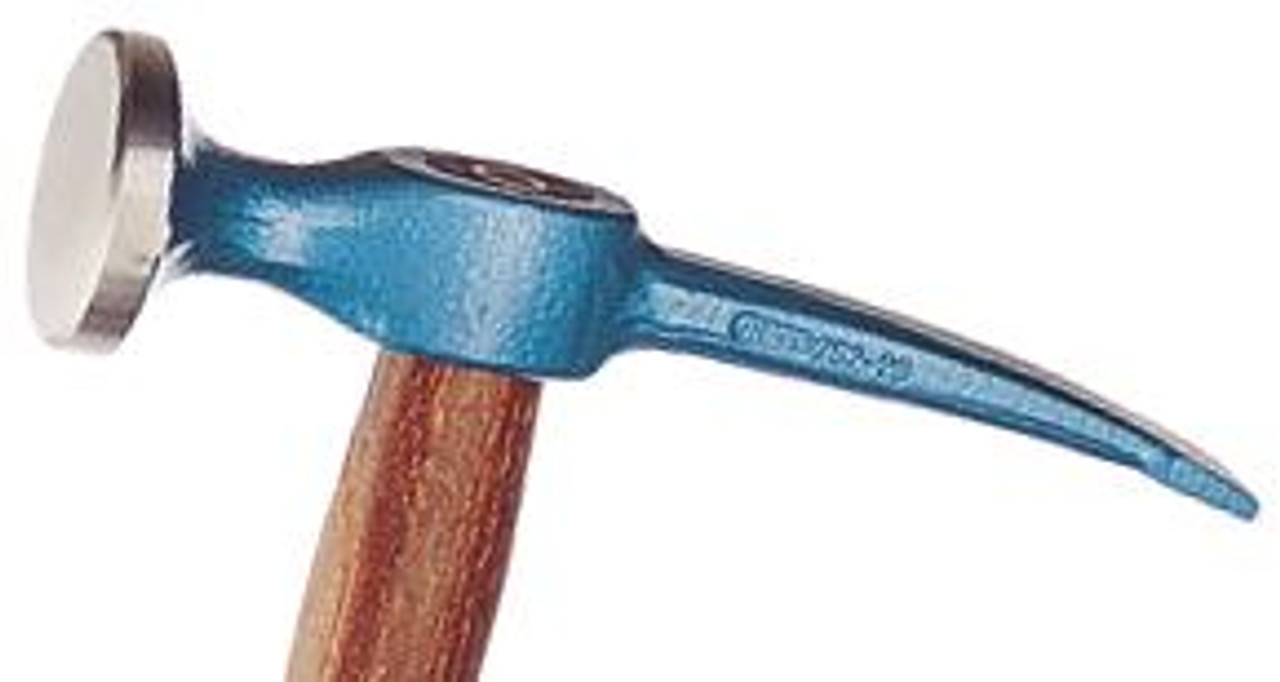 Picard Cross Pein Finishing Hammer, 450gm(16oz), 44mm round face, 18mm curved cross pein, wood handle.
