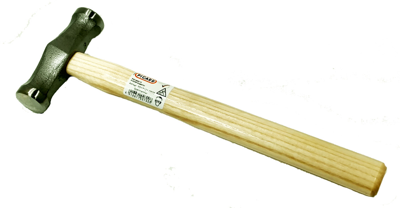 Picard 500gm Stretching Hammer, round faces 31mm flat and 31mm crowned