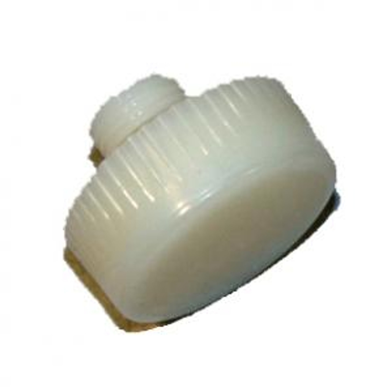 """1.5"""" Hard White nylon replacement Tip for DB 150 or NT150 hammers. One tip."""