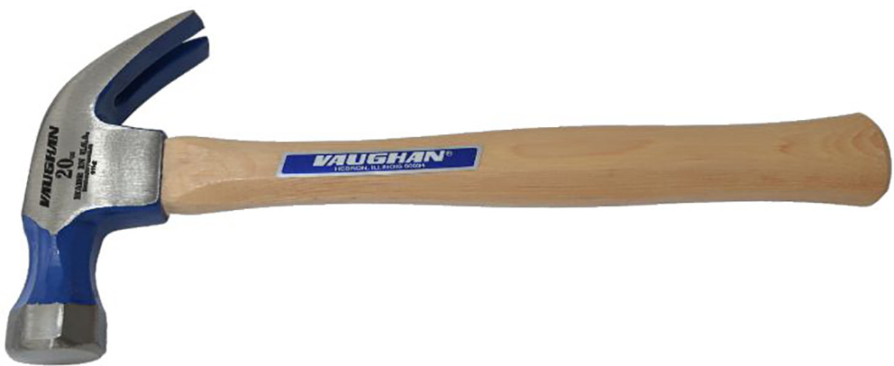 Vaughan DO20 20 oz Full Octagon nail hammer, smooth face.
