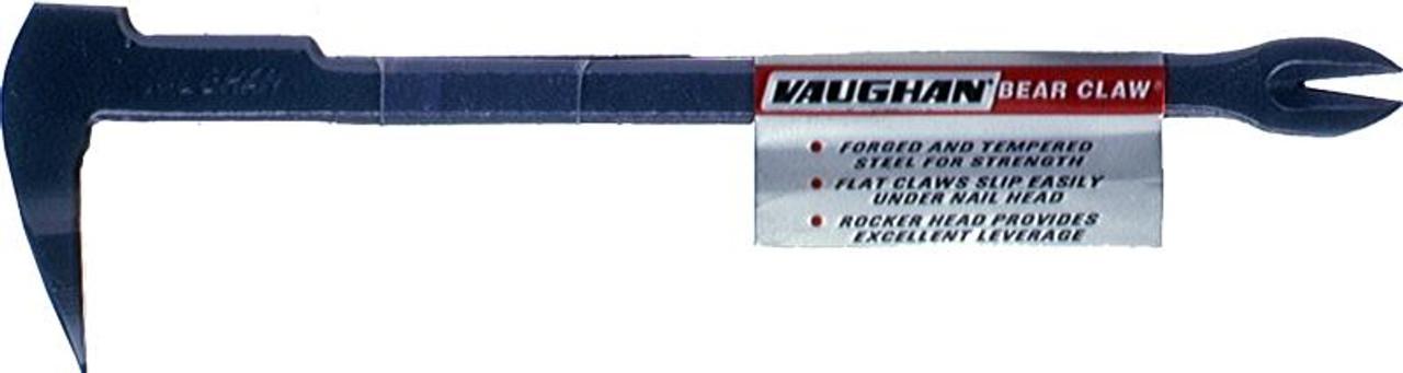 """Vaughan 11 3/4"""" BEAR CLAW NAIL PULLER, 18.5 OZ."""