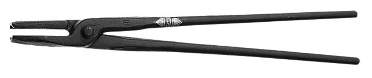 "Picard 600mm/24"" Round nosed Blacksmith Tong, 1650gm/3.6 lb., for material 16mm"