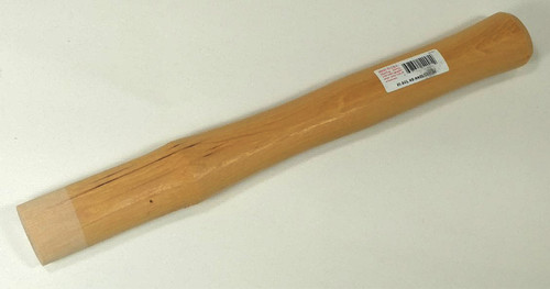 """Garland Replacement handle for Size #5 solid head Garland hammers 41005, 13 1/2"""", oval 1 1/2"""" by 1 1/16""""."""