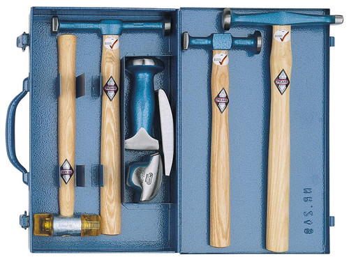 Picard 7-piece bumping tool set in sheet metal box