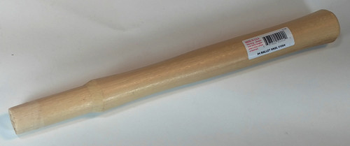 "Garland Replacement handle for #4 Rawhide, Plastic & Wood Mallets, 12"", 3/4"" round eye."