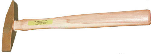 "1 lb Nickel Aluminum Bronze scaling hammer, 14"" hickory handle."