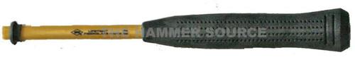 "Nupla 11"" Fiberglass handle, Rubber Grip, .433"" by .297""."