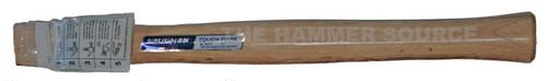 "Vaughan 17 1/2"" straight handle for rig builders hatchets, teardrop eye 1 1/2"" x 9/16"" SUPREME Wood"