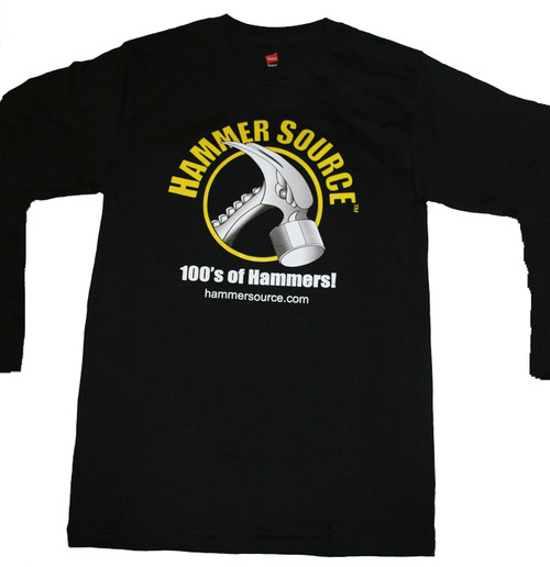 The Hammer Source T-shirt, LONG SLEEVE 100% cotton