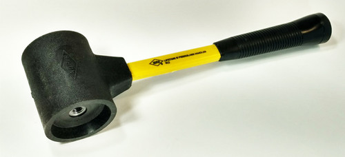 "SPS-305-18 6 lb 3"" diameter replaceable face hammer with 18"" handle."