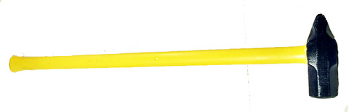 "6 lb Cross Pein Sledge, 32"" Fiberglass handle."