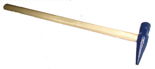 "5 lb. Ship or Top Maul, high carbon steel, heat treated, 32"" wood handle."